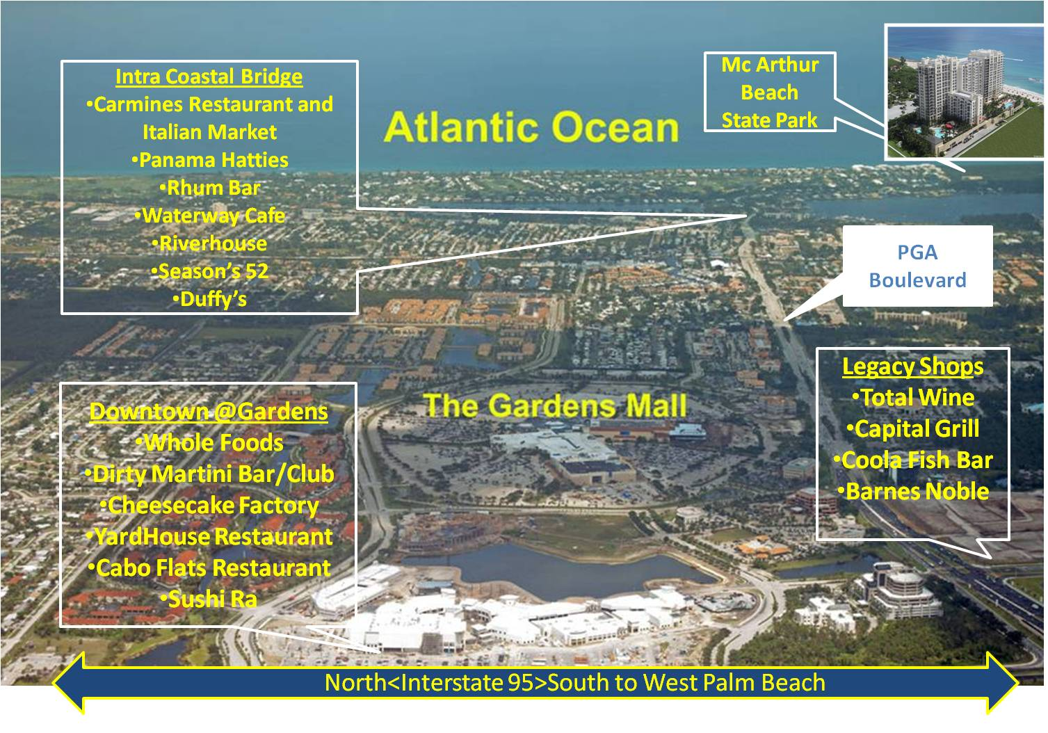 Directions map - Palm beach gardens mall directory ...